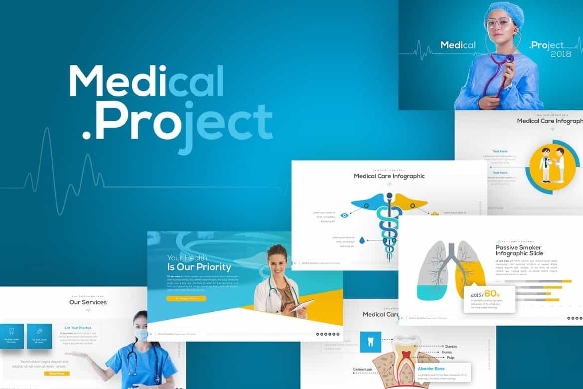 Medipro - Medical Presentation Template