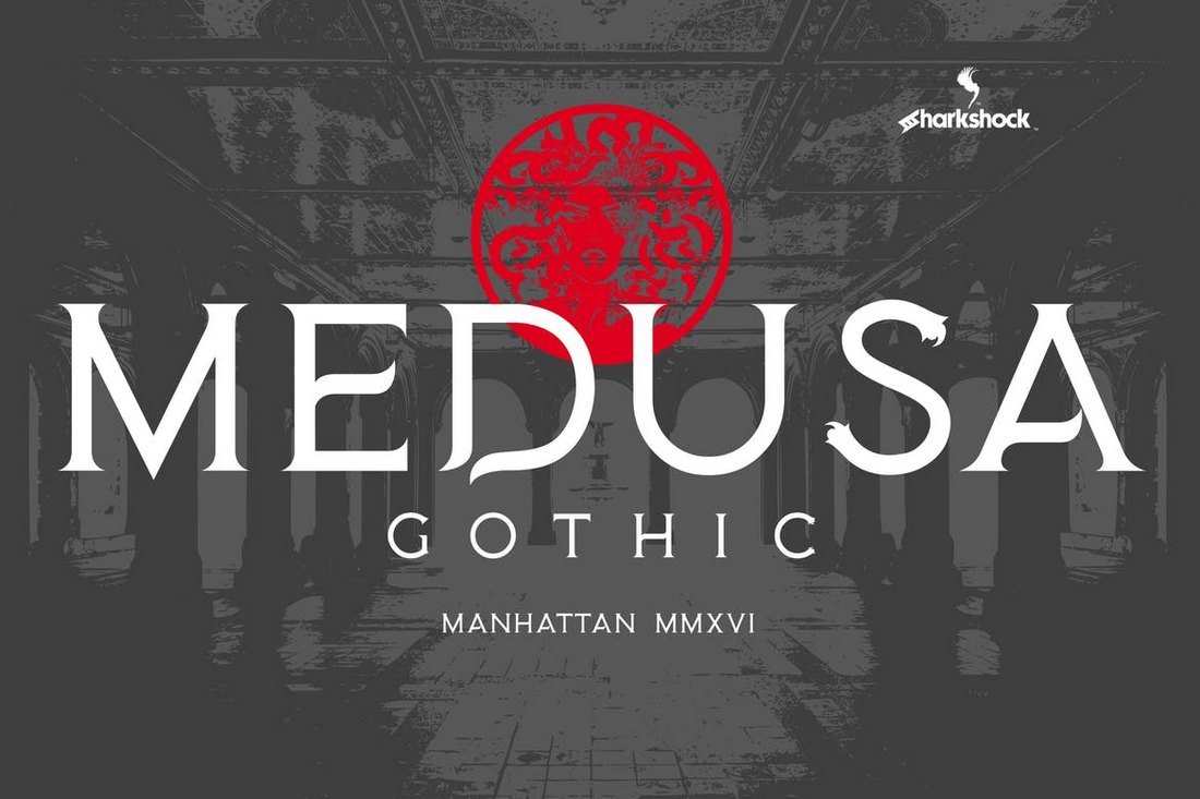 Medusa-Gothic-Font 20+ Best Gothic Fonts design tips