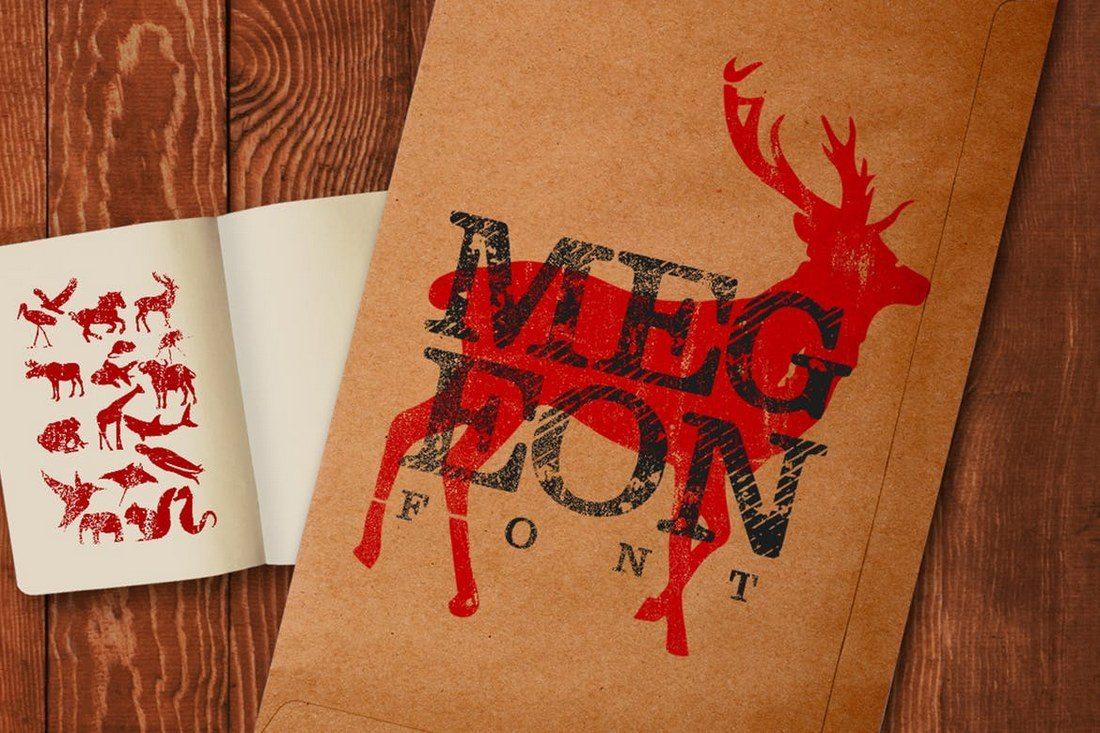 Megeon-Font 30+ Best Fonts for Logo Design design tips