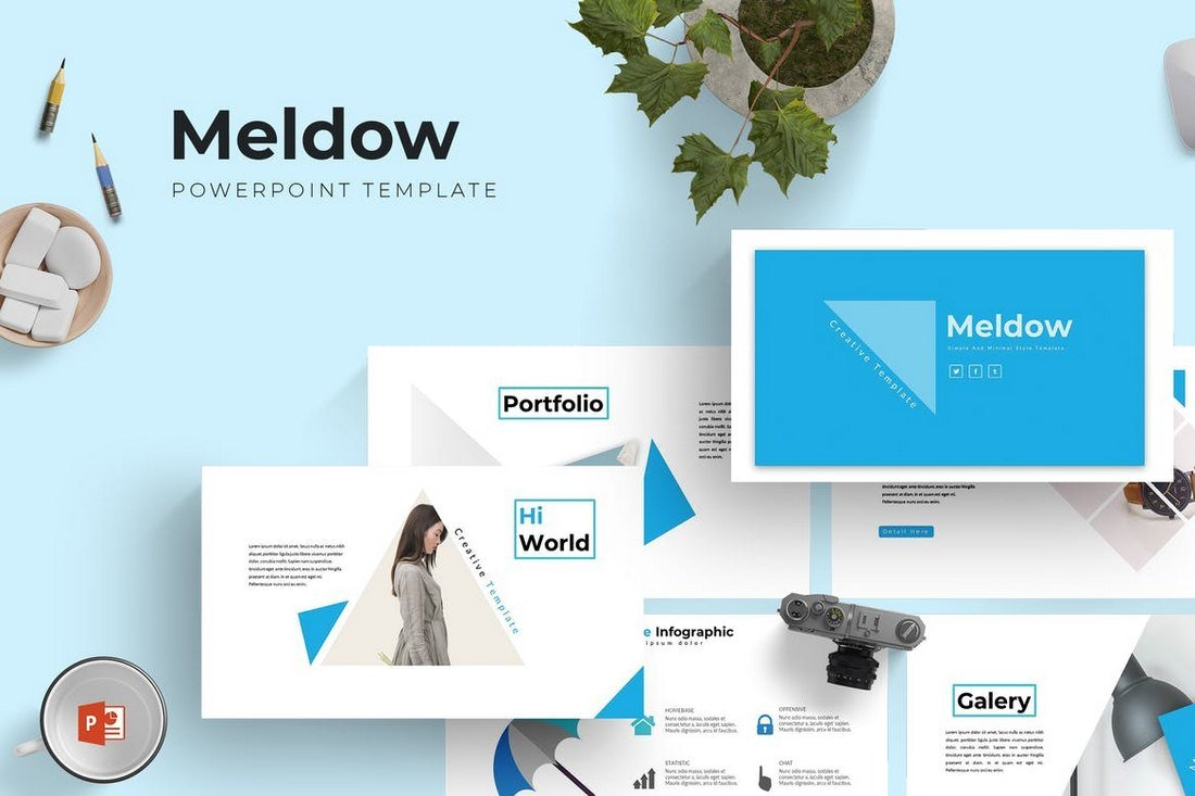 Meldow-Cool-Powerpoint-Template 20+ Best Cool PowerPoint Templates design tips