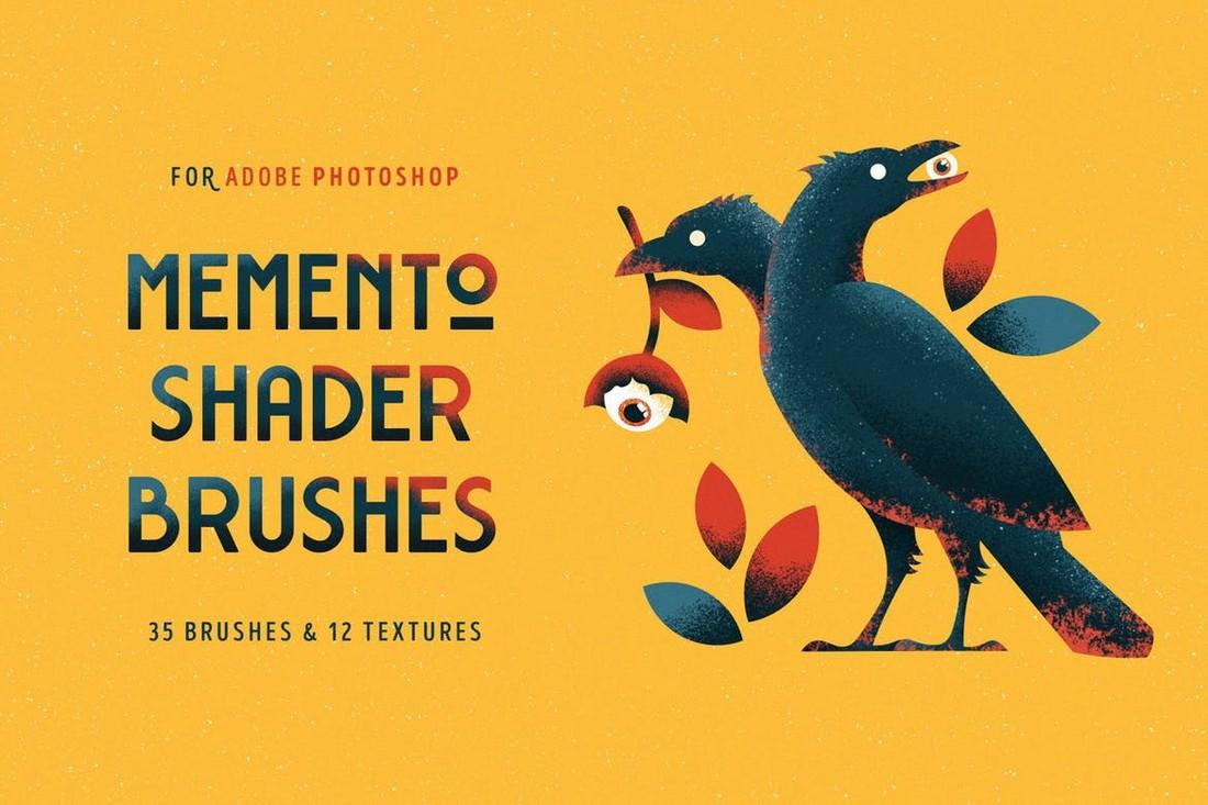 Memento - Shader Brushes for Photoshop