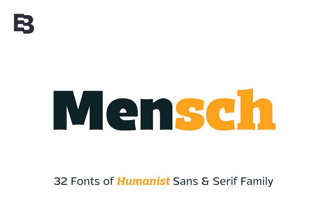 Mensch-Slab-Serif-Font-Family 50+ Best Slab Serif Fonts of 2021 design tips
