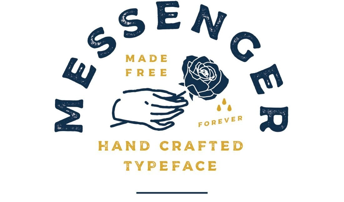 Messenger-Free-Commercial-Font 60+ Best Free Fonts for Designers 2019 (Serif, Script & Sans Serif) design tips