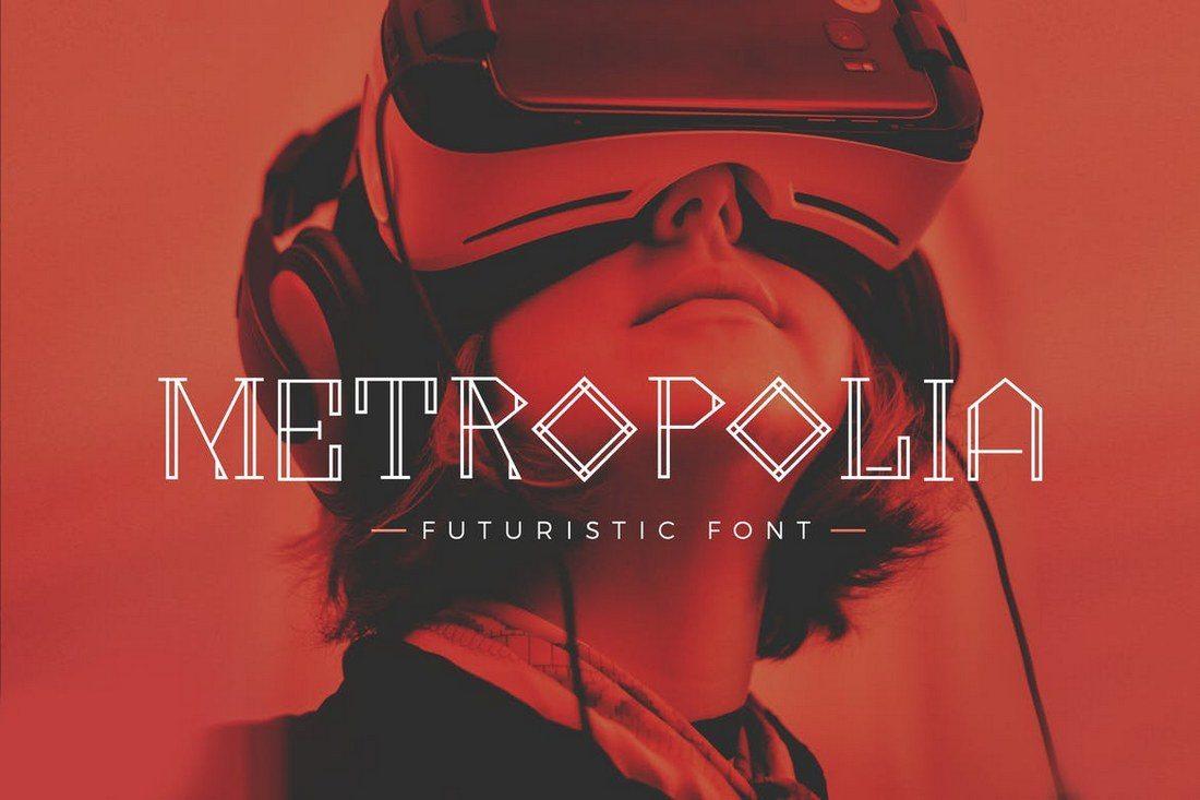 Metropolia-Futuristic-font 60+ Best Big, Poster Fonts of 2019 design tips