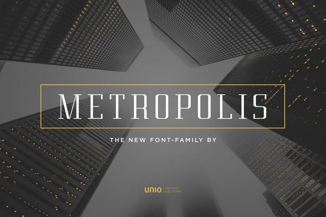 Metropolis-Modern-Font 30+ Best Fonts for Business Cards design tips