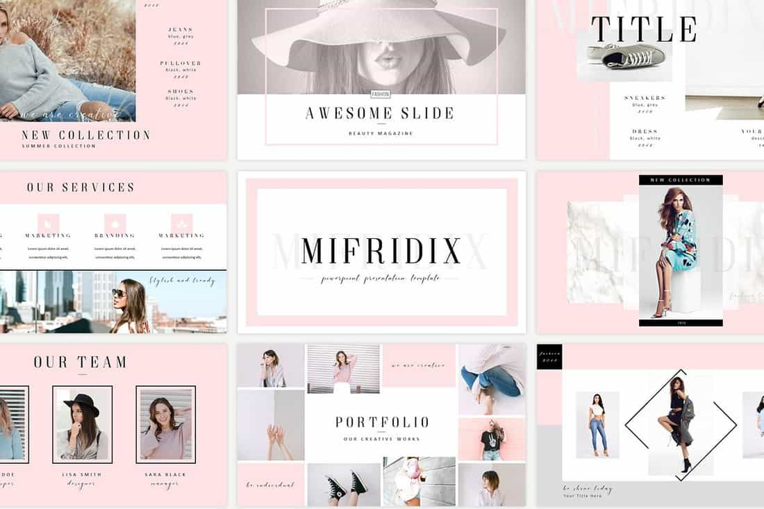 Mifridix - Free Powerpoint Presentation Template