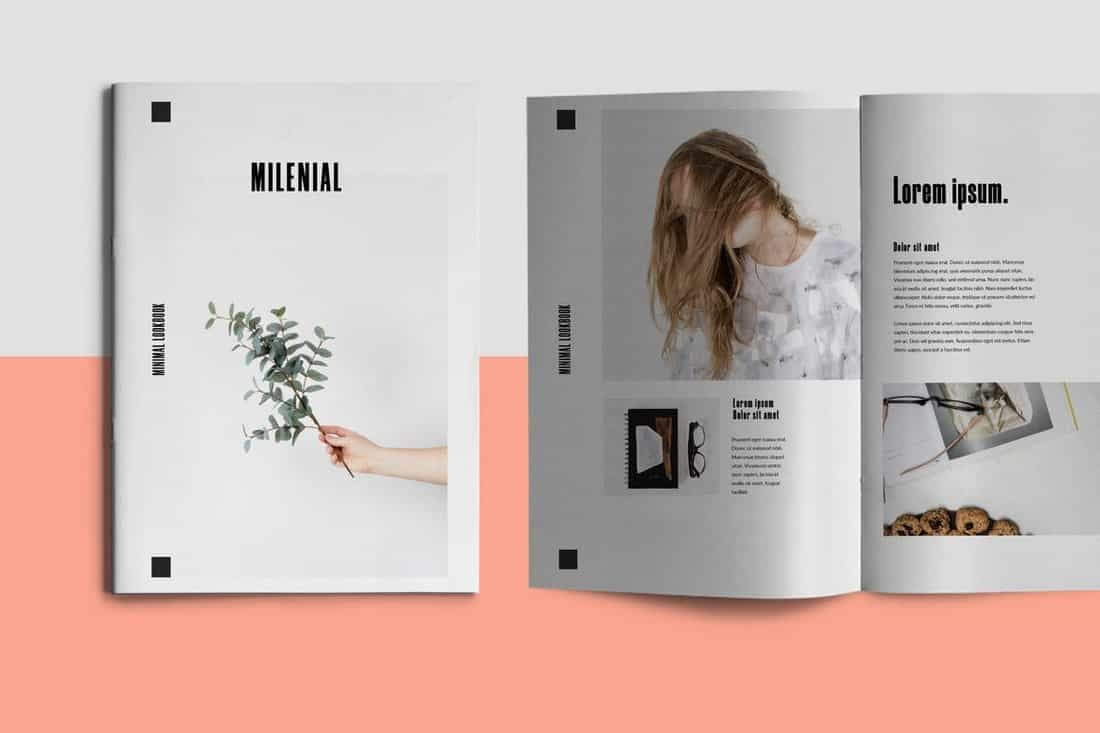 Millenial - InDesign Brochure Template
