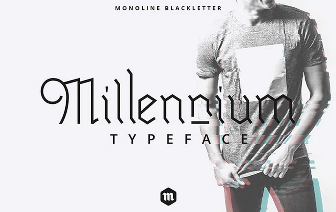 Millennium-Free-Blackletter-Typeface 30+ Best Tattoo Fonts & Lettering design tips  Inspiration|tattoo