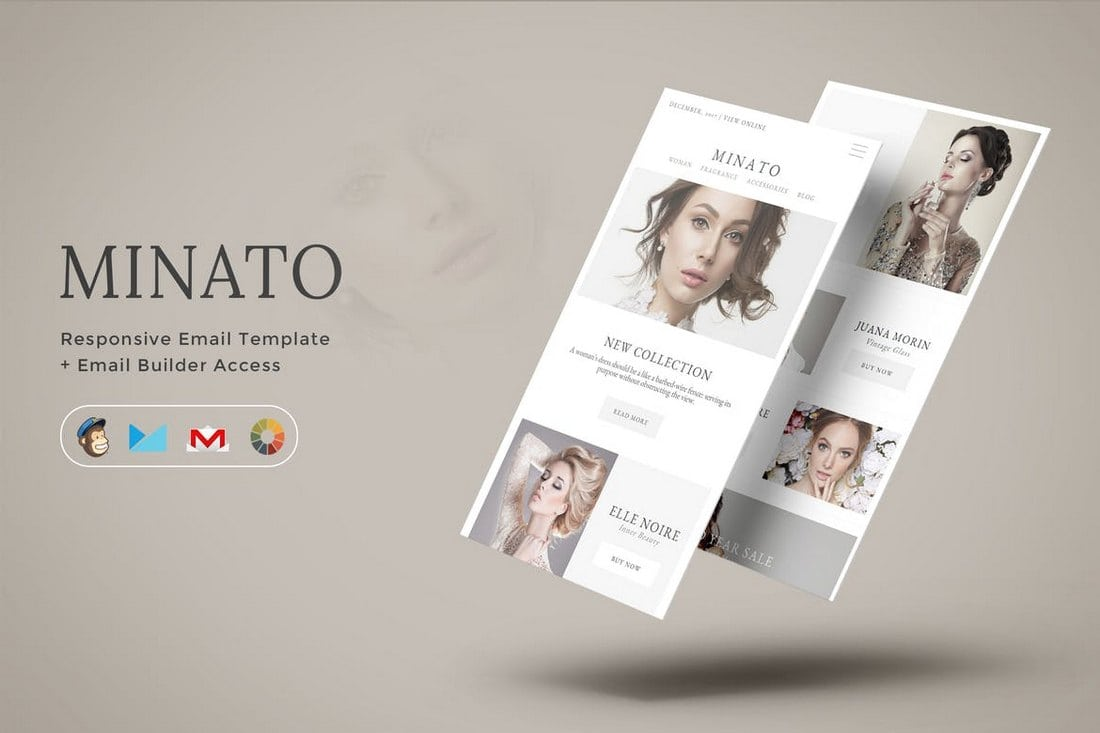 Minato-Fashion-Email-Template 40+ Modern Responsive Email Templates 2021 design tips