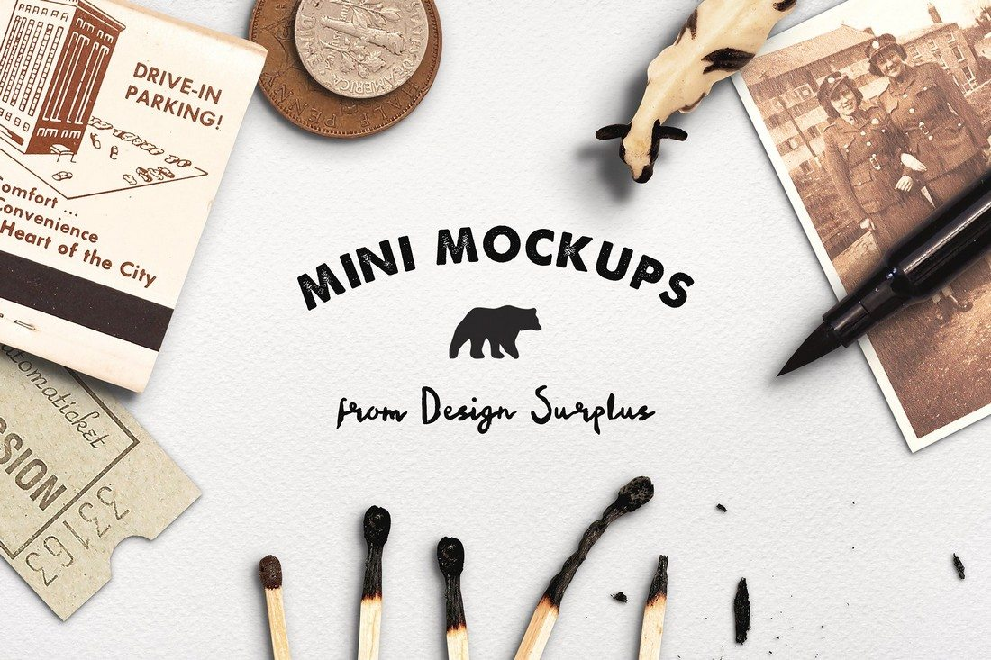 Mini-Design-Mockups 40+ Stunning Vintage Mockup Packs & Graphics design tips