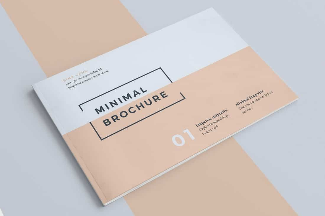 Minimal Brochure Cover Design Template