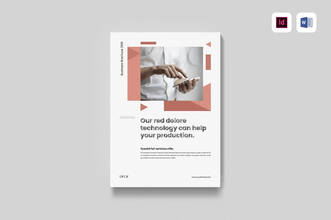 Minimal-Business-Brochure-Template 40+ Best Microsoft Word Brochure Templates 2020 design tips  Inspiration|brochure|templates