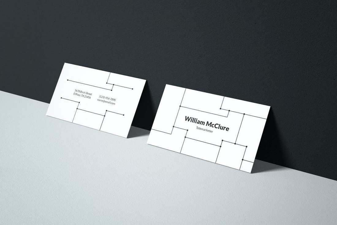 Minimal Business Card with Clean Design