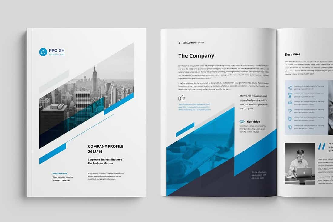 Minimal Corporate Brochure Template