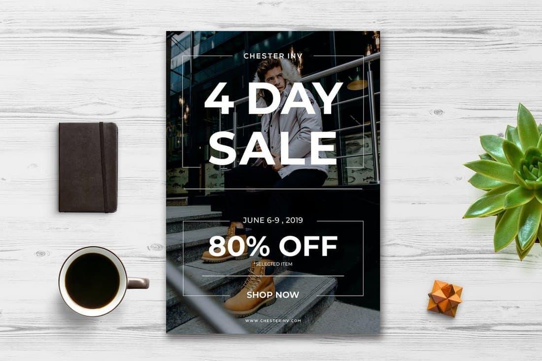 Minimal Fashion Sale Flyer