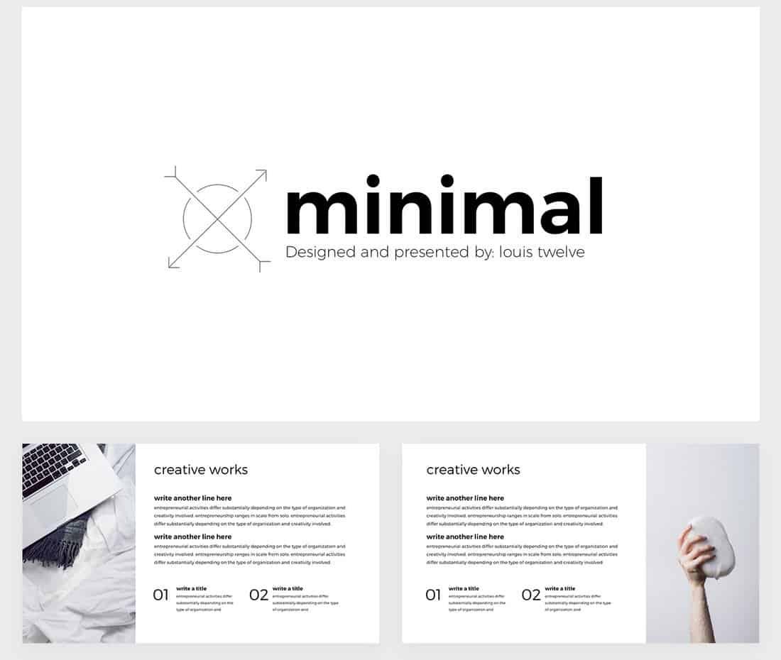 Minimal - Free Google Slides Template