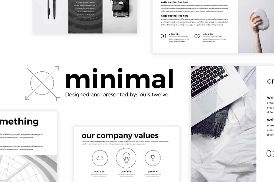 Minimal - Free PowerPoint Template
