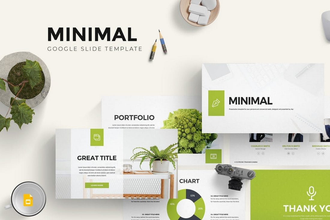 Minimal-Google-Slides-Template 25+ Modern, Premium Google Slides Templates & Themes design tips