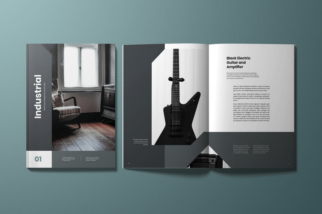 Minimal-InDesign-Magazine-Template 30+ Best InDesign Magazine Templates 2021 (Free & Premium) design tips