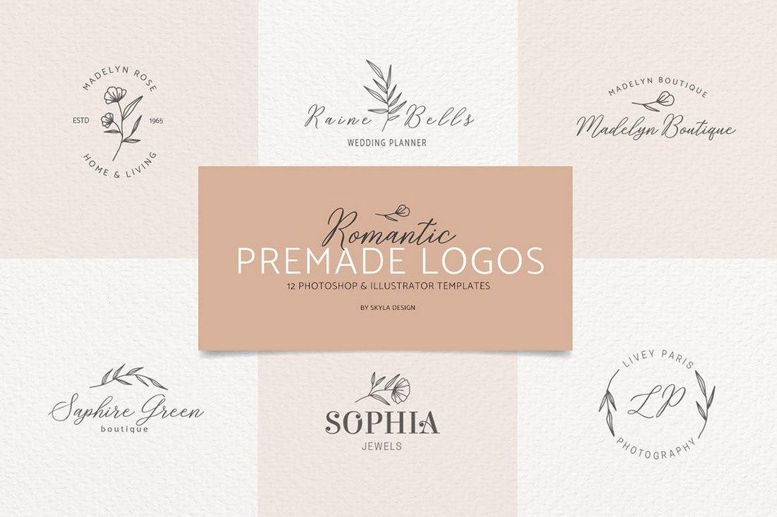 Minimal Logo Templates Bundle