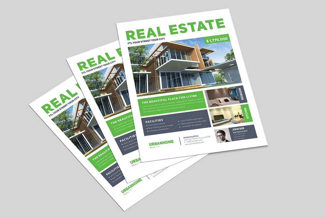 Minimal-Real-Estate-Flyer-2 30+ Best Real Estate Flyer Templates design tips  Inspiration|flyer|property|real estate