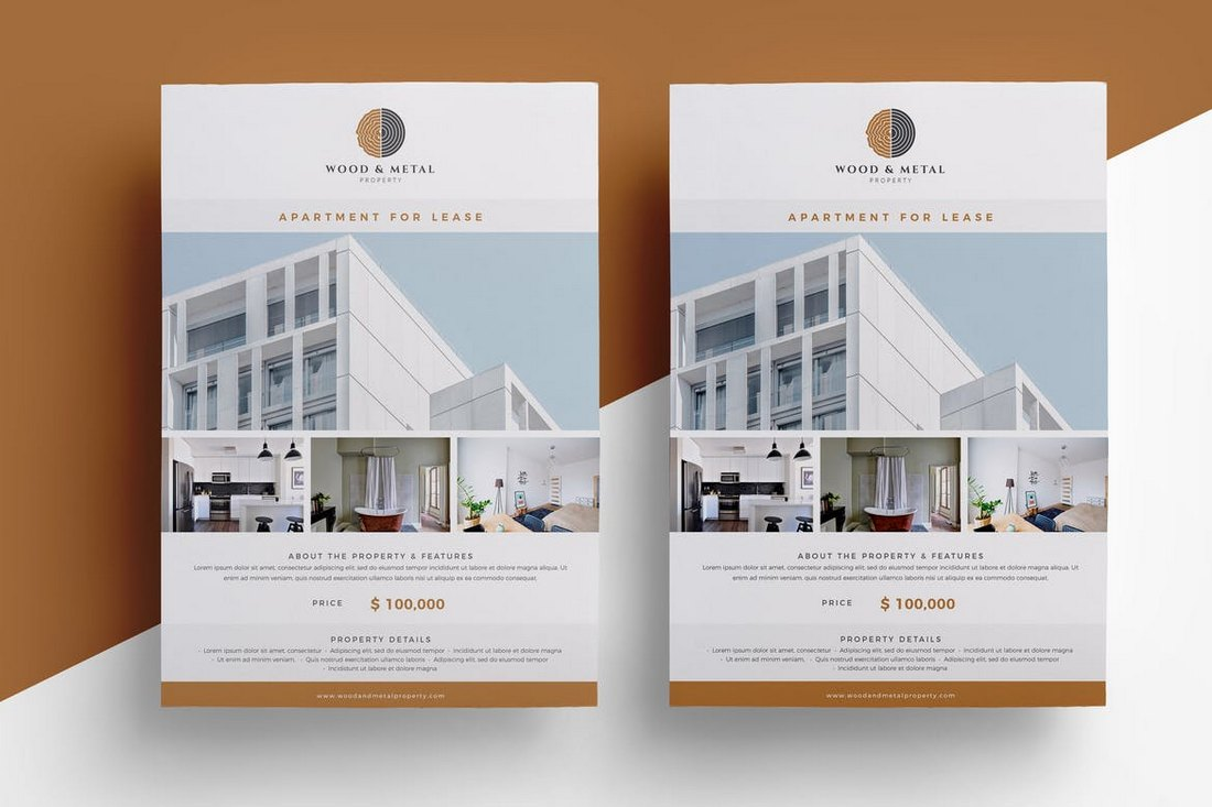 Minimal-Real-Estate-Flyer-Template 30+ Best Real Estate Flyer Templates design tips  Inspiration|flyer|property|real estate