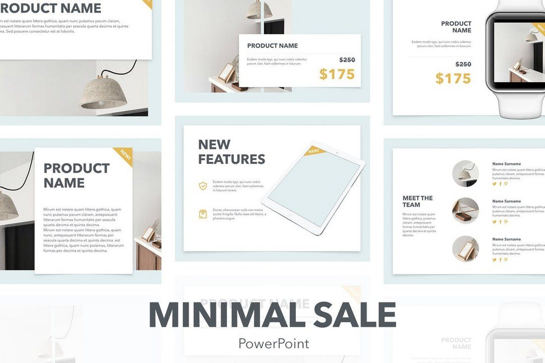 30 best powerpoint templates of 2018 design shack this is a great presentation template for promoting a product or an ecommerce business the template includes 20 master slide layouts with a design that wajeb Choice Image