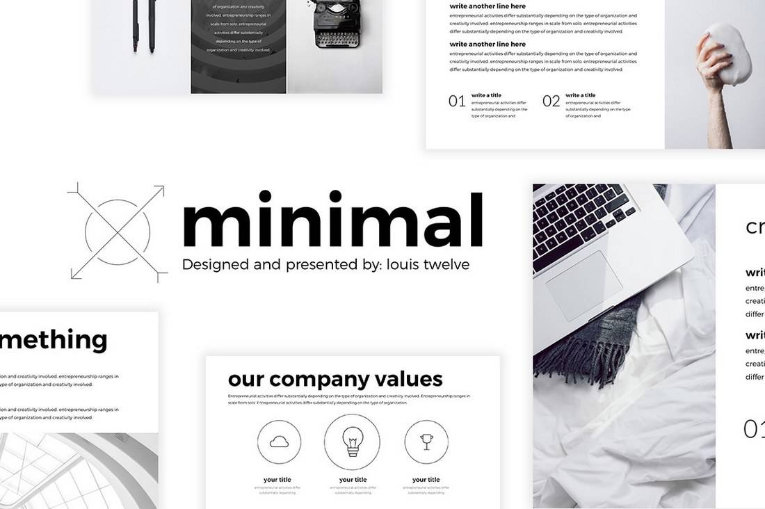 Minimal - Simple Free PowerPoint Template