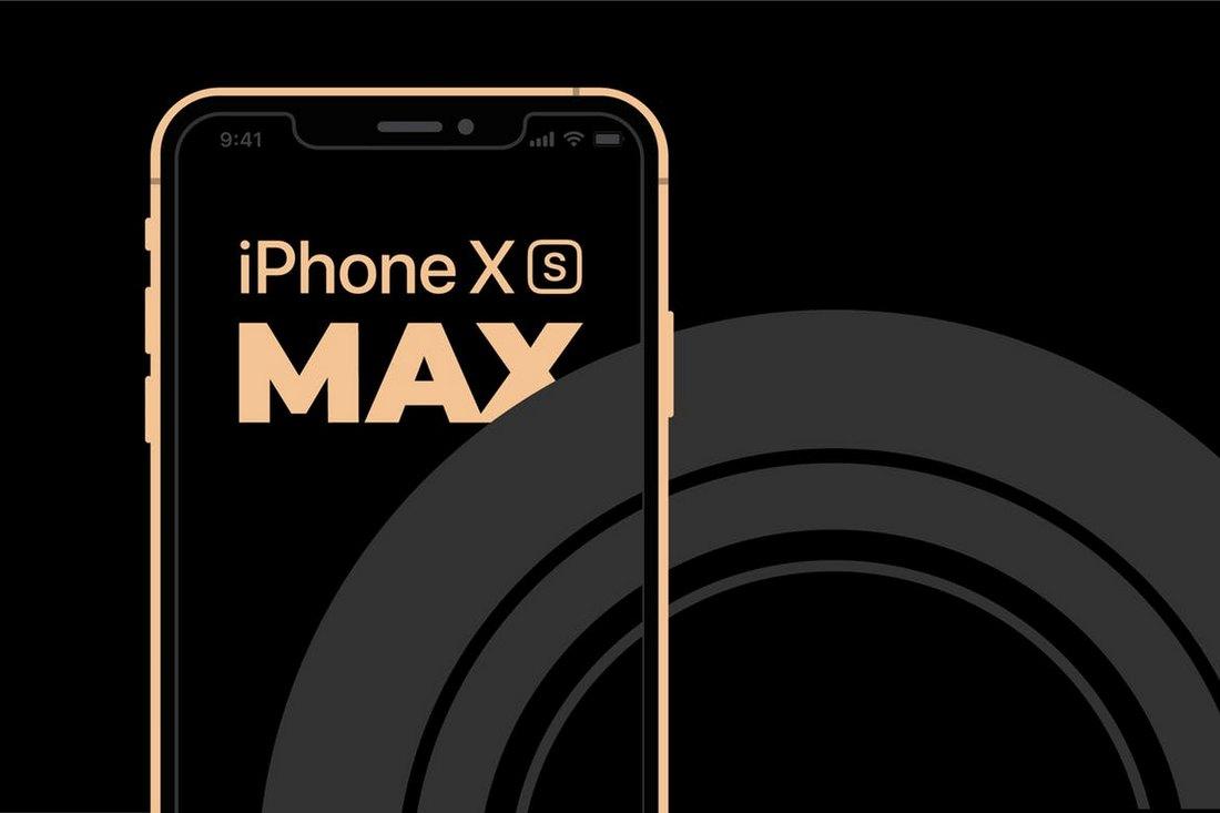 Minimal-iPhone-XS-MAX-mockup 10+ Best iPhone XS, XS Max & XR Mockups design tips