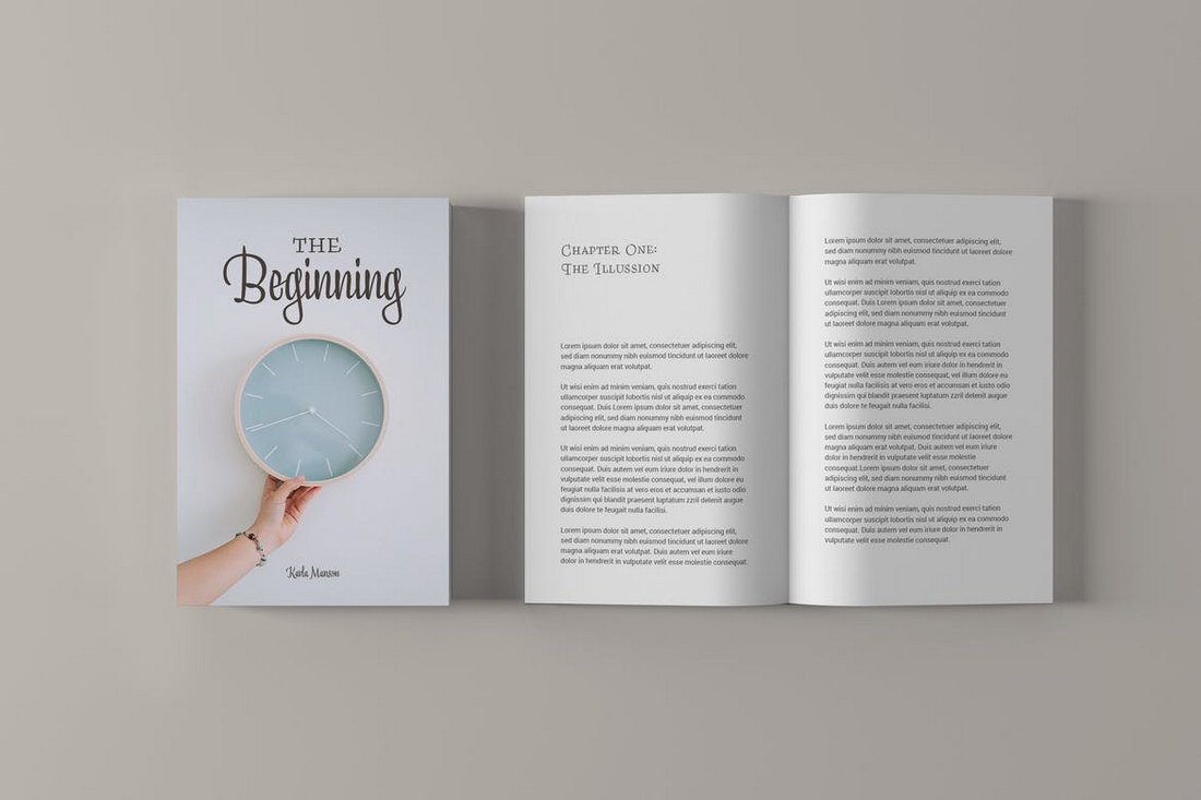 Minimalist-Book-Cover-Mockup 20+ Best Book Cover Mockup Templates design tips