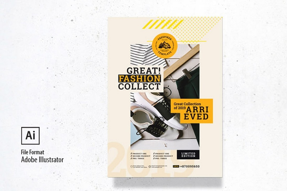 Minimalist-Fashion-Sale-Poster-Template 20+ Best Free Poster Templates (Illustrator & Photoshop) 2020 design tips  Inspiration