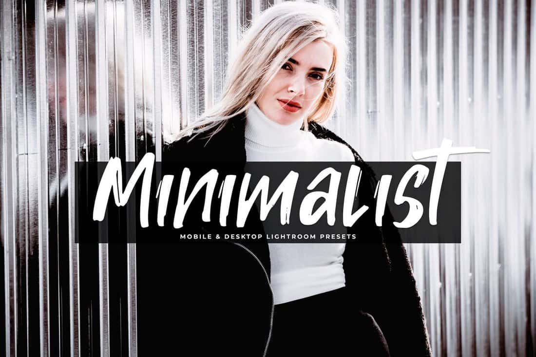 Minimalist-Mobile-Desktop-Lightroom-Presets 50+ Best Lightroom Presets for Portraits (Free & Pro) 2020 design tips