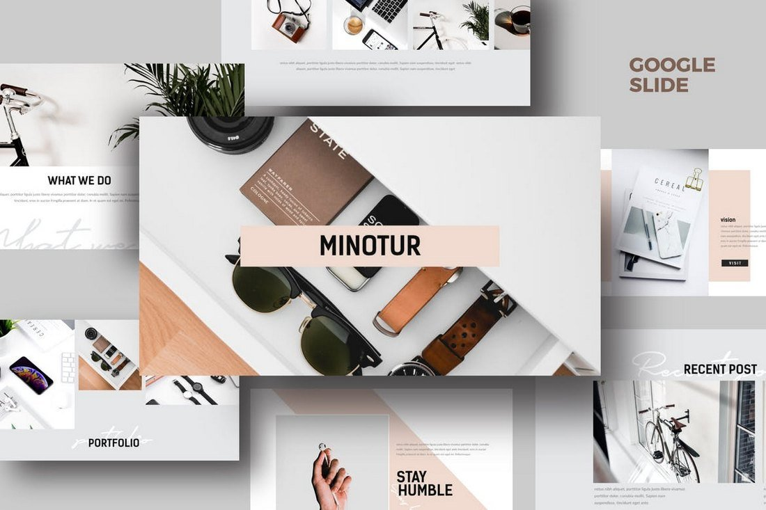 Minotur-Google-Slides-Template 35+ Best Google Slides Themes & Templates 2019 design tips