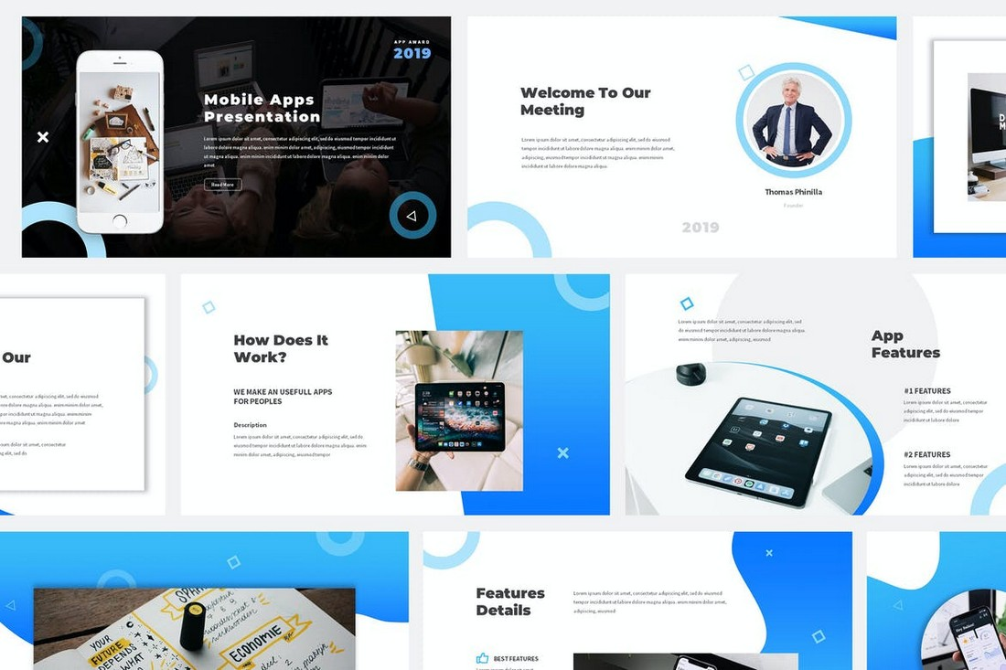Mobile App Proposal PowerPoint Template
