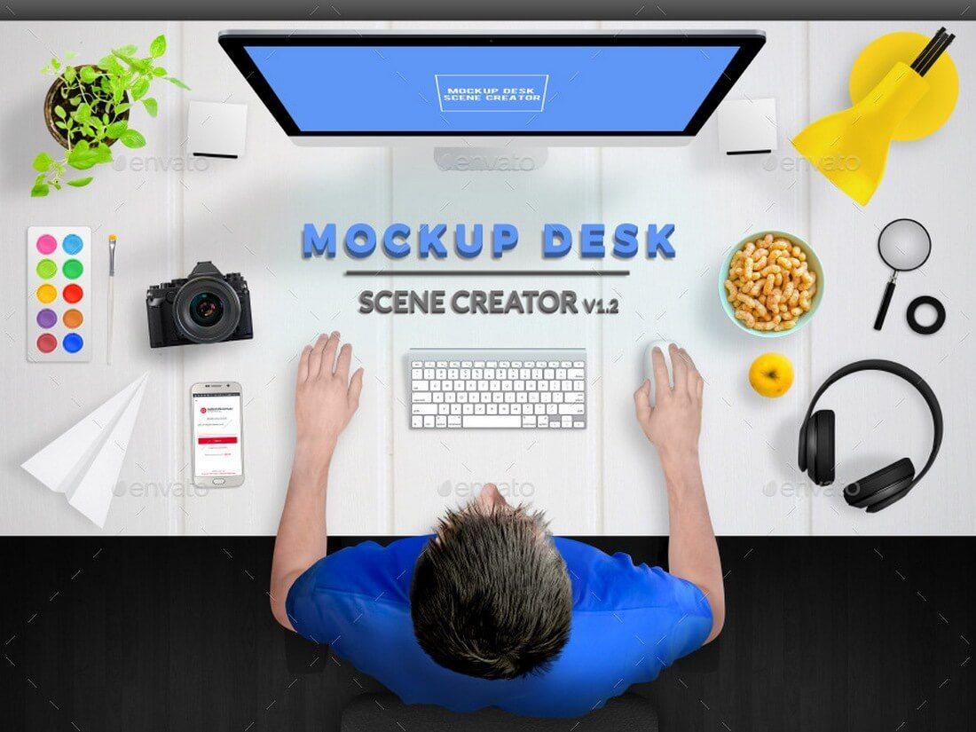 mockup-desk-scene