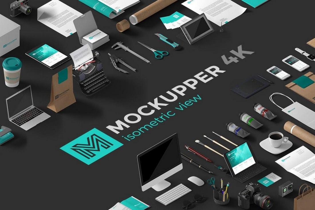 Mockupper - Isometric 4K Mockup Generator