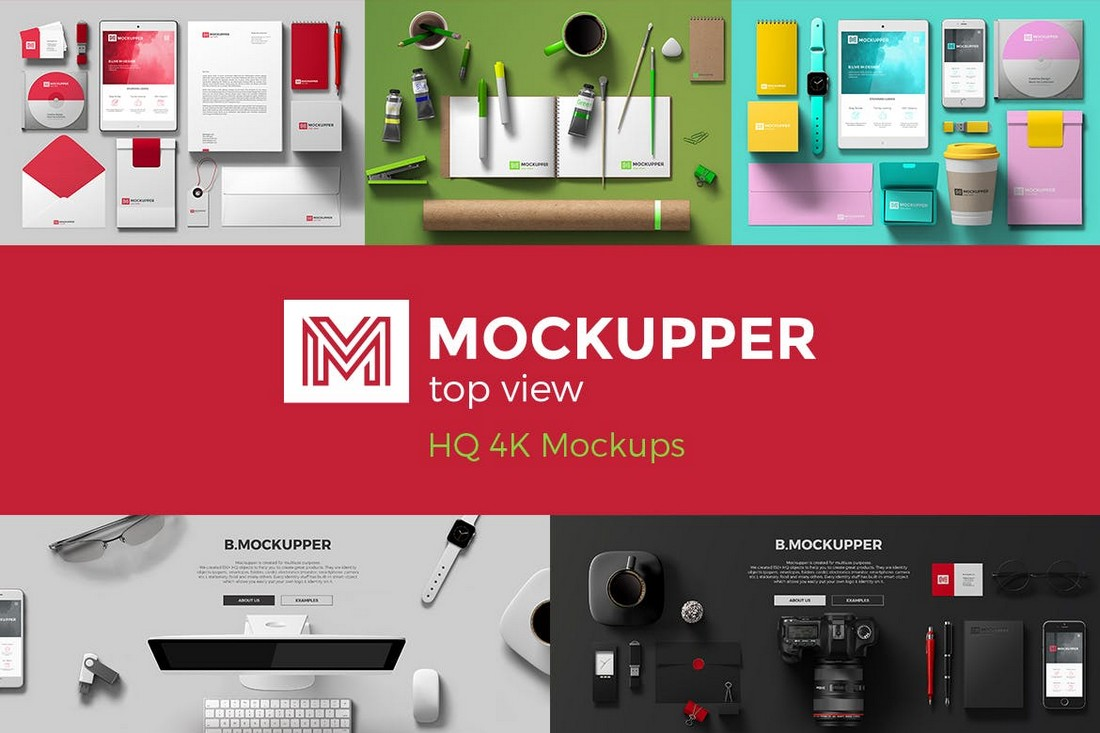 Mockupper - Top View 4K Mockup Generator