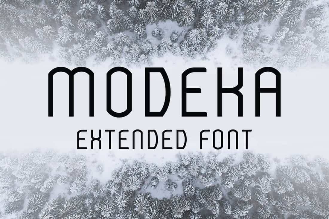 Modeka-Minimal-Extended-Font 30+ Best Fonts for Signs design tips  Inspiration