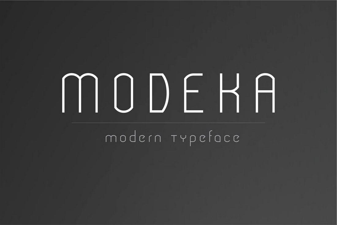 Modeka-Modern-Font-1 30+ Best Fonts for Business Cards design tips