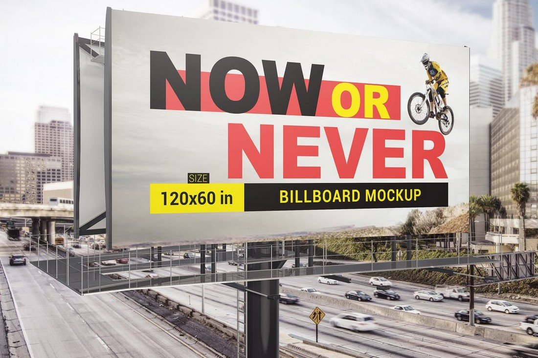 Modern Billboard Mockup Template
