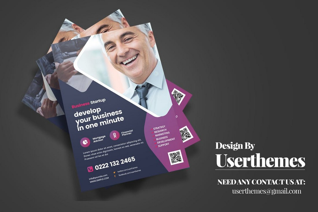 Modern Business Flyer Design Templates