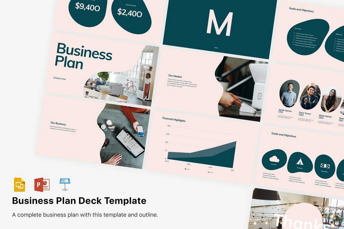 Modern Business Plan Presentation Template PPT