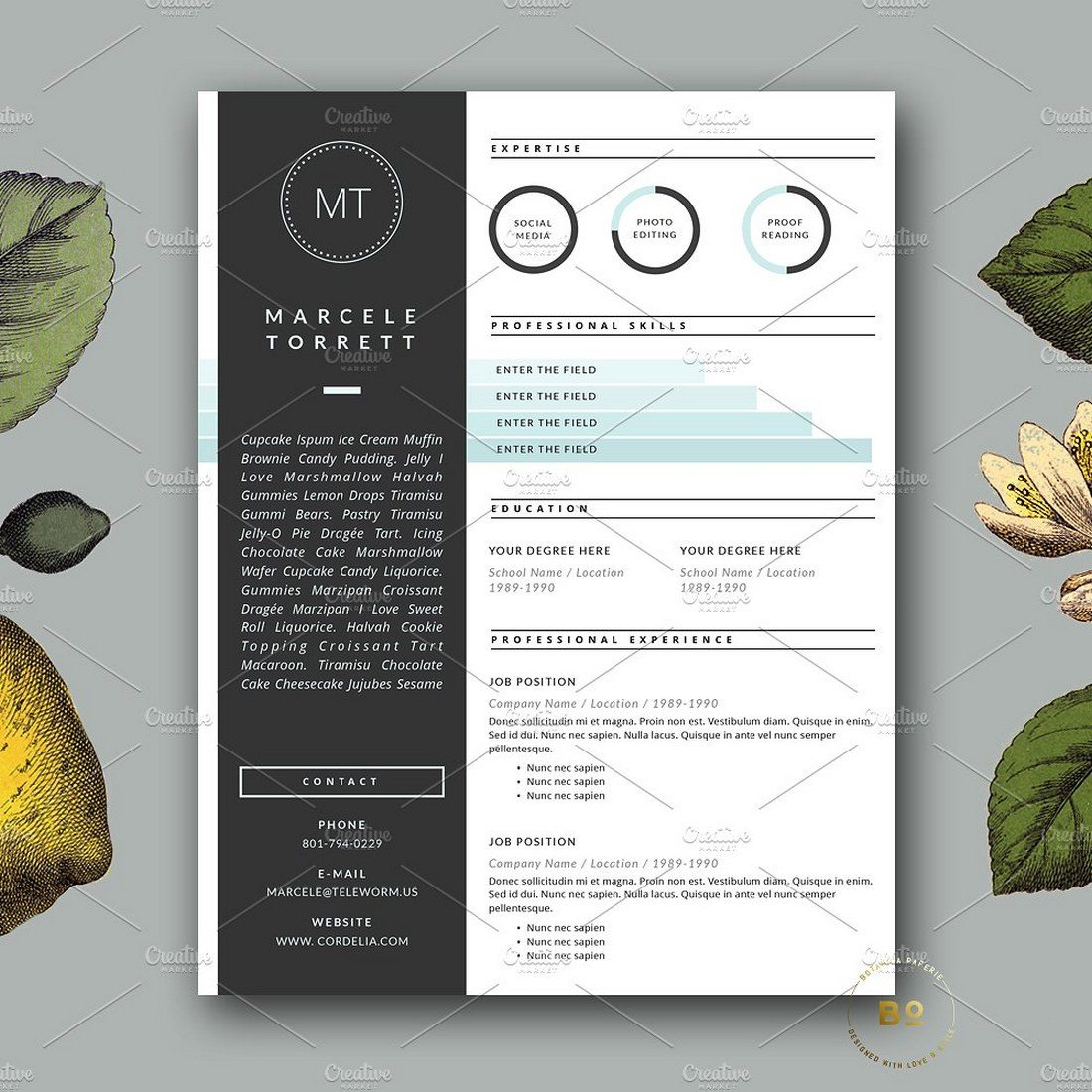 Modern-CV-Template-for-Pages 20+ Best Pages Resume & CV Templates design tips