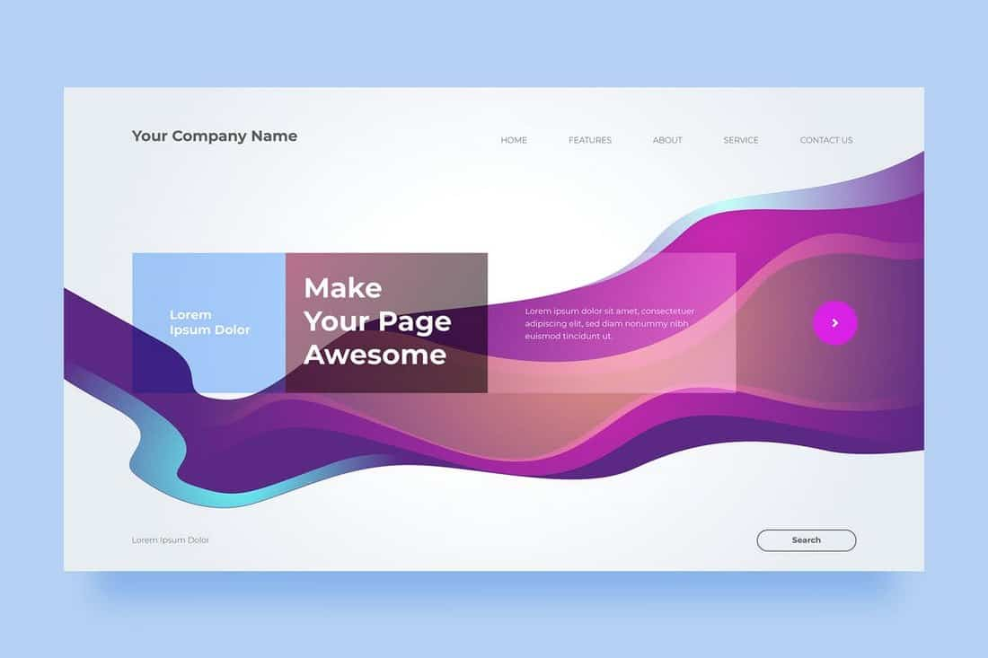 Modern Company Background Template