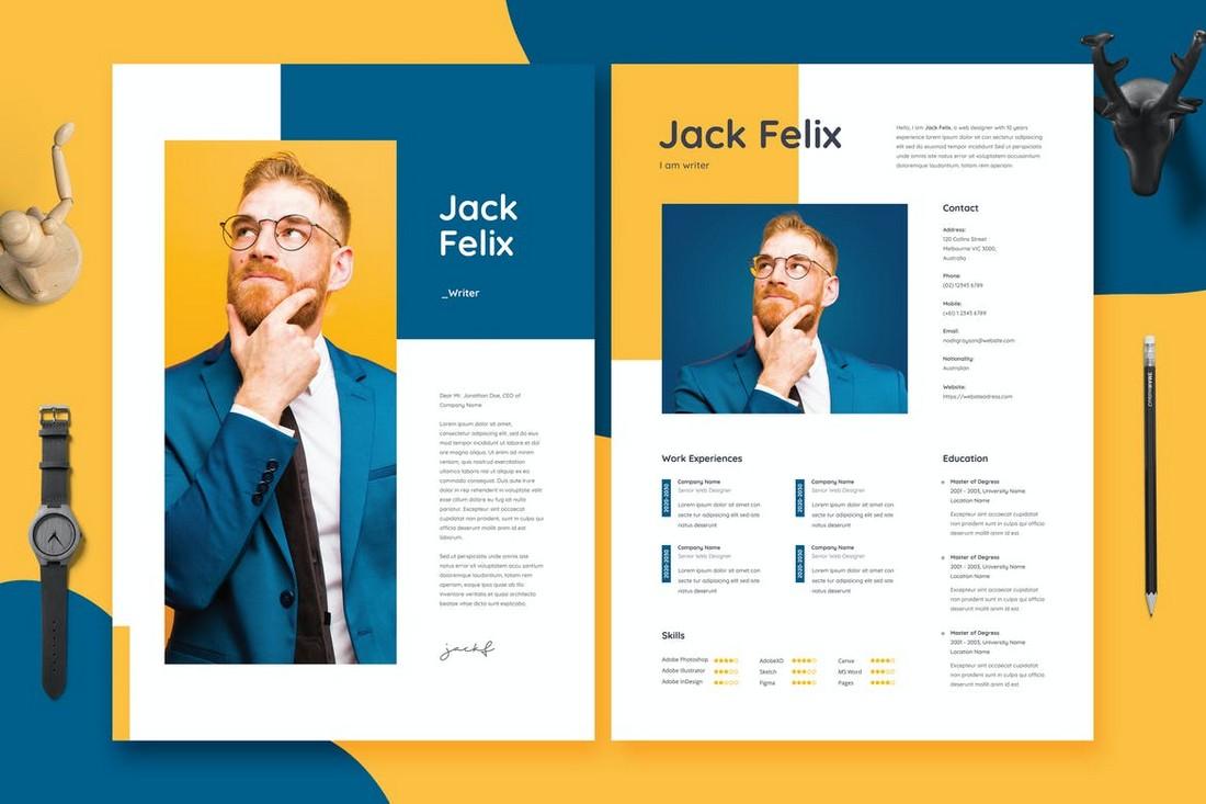 Modern & Creative Resume CV Template
