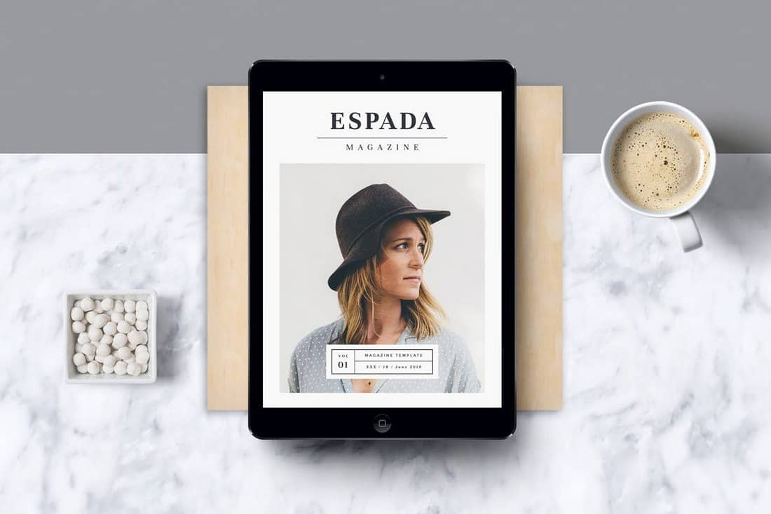 Modern E-Magazine Template