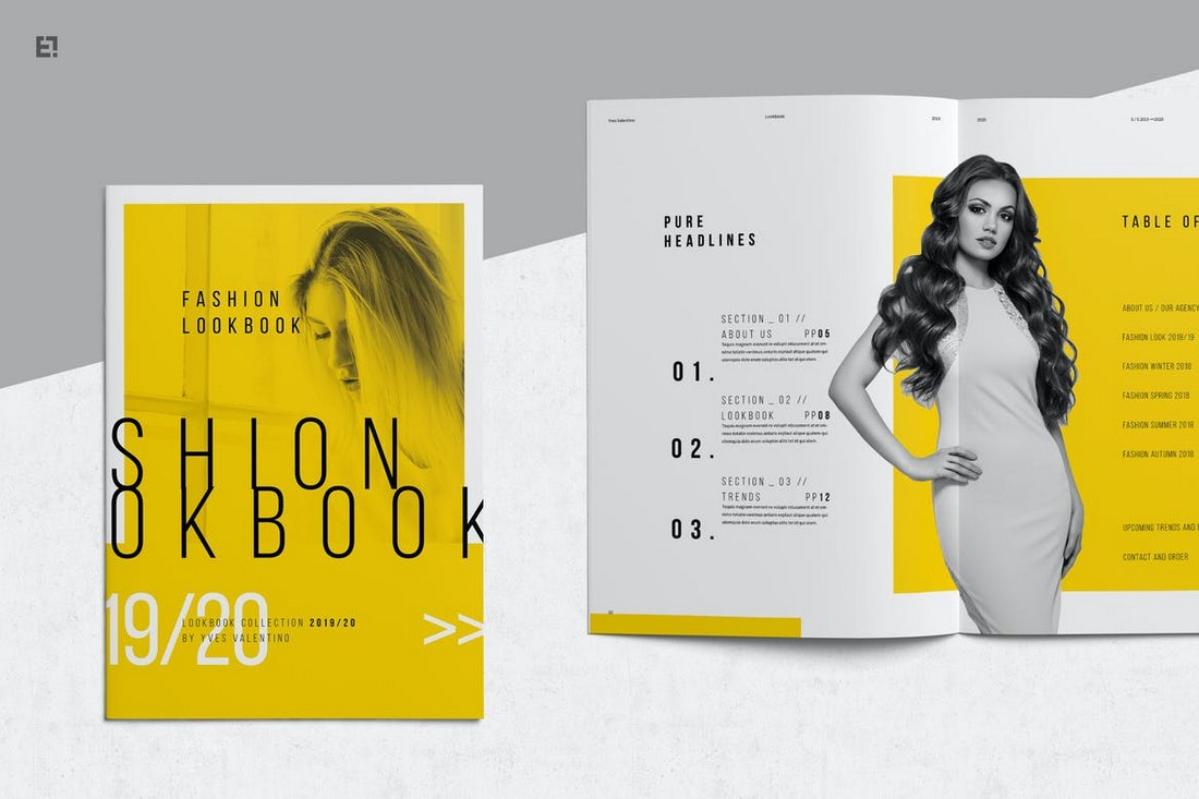 Modern Fashion Lookbook Template