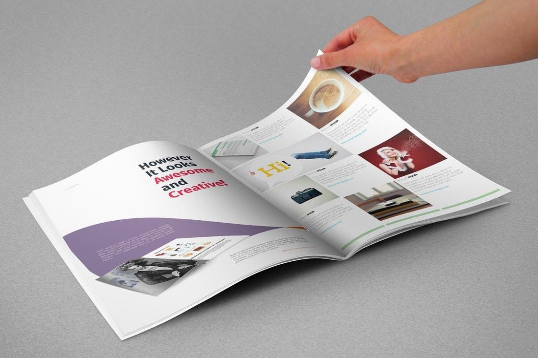 Modern-Free-InDesign-Magazine-Template 30+ Best InDesign Magazine Templates 2021 (Free & Premium) design tips