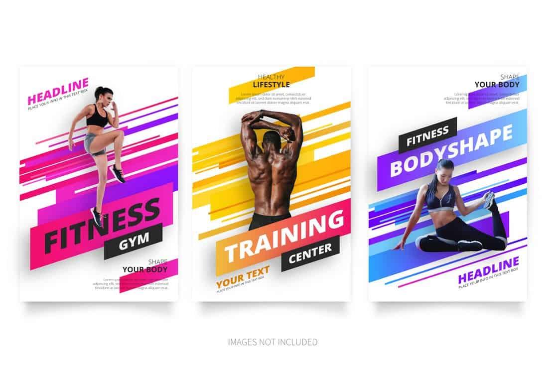 Modern Gym & Fitnness Flyer Template