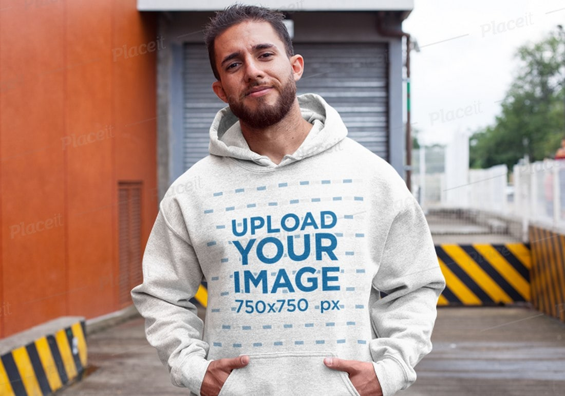 Modern-Hoodie-Mockup-With-Real-Background 20+ Hoodie Mockup Templates (Free & Premium) design tips  Inspiration